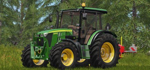 Мод трактор John Dere 5085M v 1.0 Farming Simulator 17