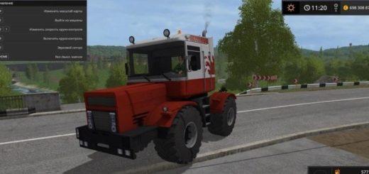 Мод трактор Кировец KIROVETS MAGNUM M560 Farming Simulator 2017