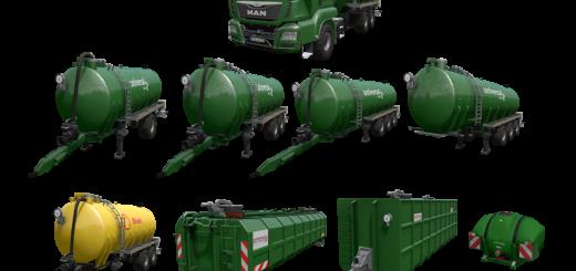 Мод Kotte Universal Pack v 1.0.0.4 Farming Simulator 2017