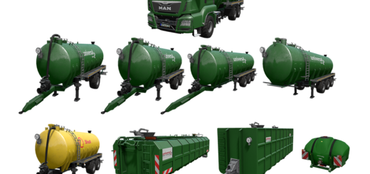 Мод Kotte Universal Pack v 1.0 Farming Simulator 17