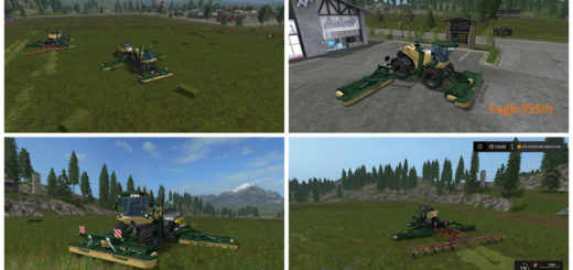 Мод KRONE BIG M500 V1.5 COMBINE Farming Simulator 2017