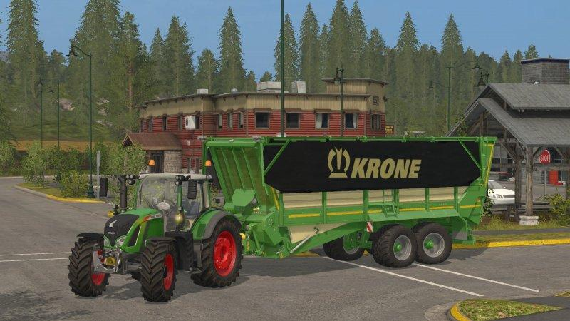Мод прицеп KRONE TX 460 D v 1.0 Farming Simulator 17