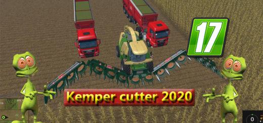 Мод жатка Kemper cutter 2020 v 1.0 Farming Simulator 2017