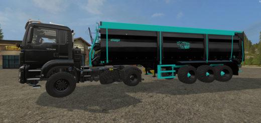 Мод прицеп Krampe Bandit SB 30/60 v 1.6 Farming Simulator 17