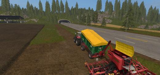Мод прицеп Kroeger Overload v 1.0 Farming Simulator 2017