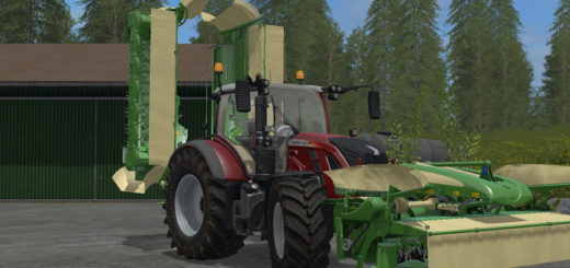 Мод косилка Krone Easy Cut Pack V 1 Farming Simulator 17