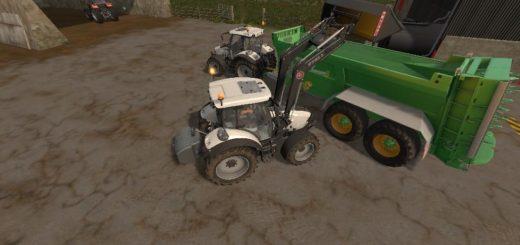 Мод трактор LAMBORGHINI NITRO T4I VRT V1.0 Farming Simulator 2017