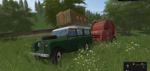 Мод авто LANDROVER 109 LWB V1.0 Farming Simulator 17