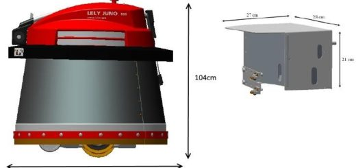 Мод Lely Juno 100 Farming Simulator 2017