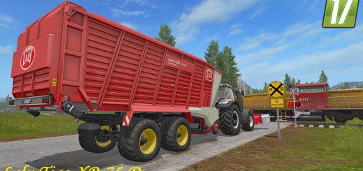Мод прицеп Lely Tigo XR 75 D v 1.1 Farming Simulator 2017