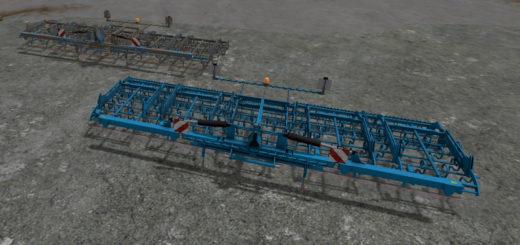 Мод культиватор Lemken Korund 750L V 1.0 Farming Simulator 17