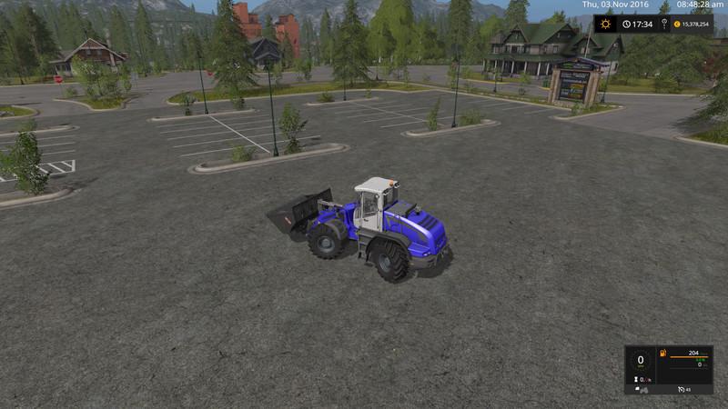 Мод погрузчик Liebherr L538 AWS v 1.0.0.0  Farming Simulator 2017