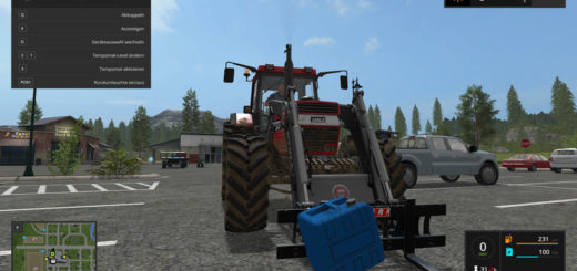 Мод Liquid Fertilizer tank for handwork v 1.0 Farming Simulator 17