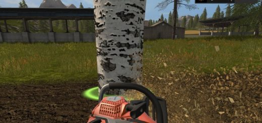 Мод Placeable Birke kahl klein v 1.0 Farming Simulator 17