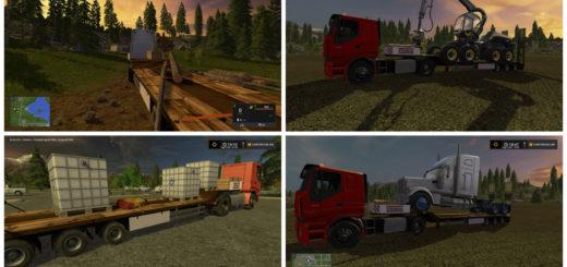 Мод Lowboy in Strabag Look V 1.0 Farming Simulator 17