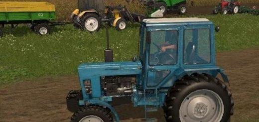 Мод трактор МТЗ MTZ 80 V 2.0 Фермер Симулятор 2017