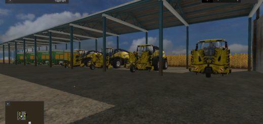 Мод карта Maize Map 4x Farming Simulator 2017