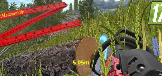 Мод скрипт Metermaß Measure v 2.0 Farming Simulator 17