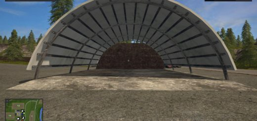 Мод Placeable American HayShed v 1.0 Farming Simulator 2017