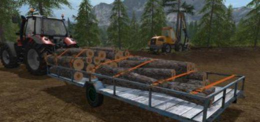 Мод прицеп Plato Trailer Farming Simulator 17