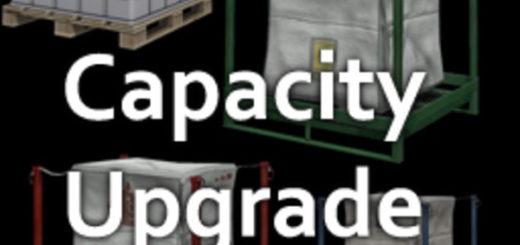 Мод скрипт Pallet Capacity Upgrade V 1.0.4 Farming Simulator 2017