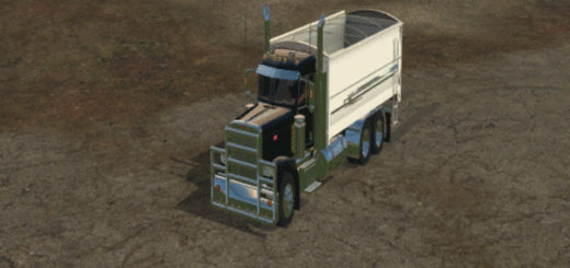 Мод грузовик Peterbilt 389 Grain Truck V 2.0 Farming Simulator 2017