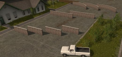 Мод Placeable walls v 1.0 Farming Simulator 2017