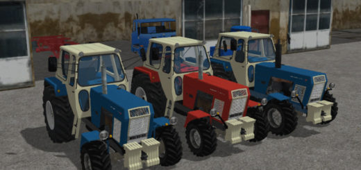 Мод Progress ZT 303/403 v 1.0 Farming Simulator 17