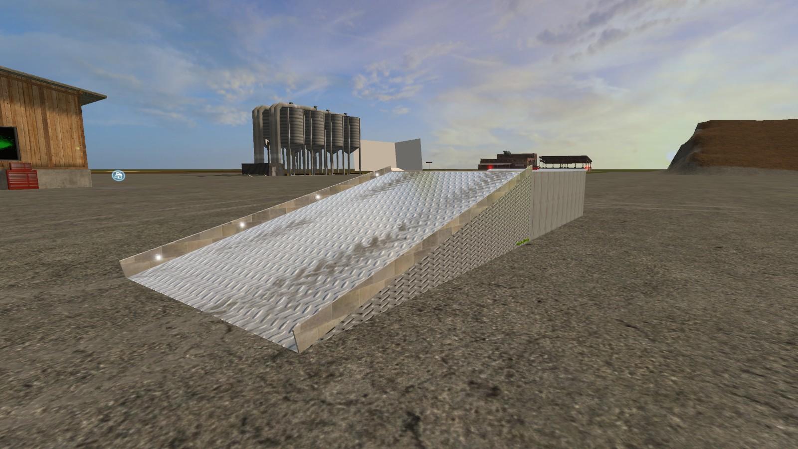 Мод рампа RAMP PLACEABLE V1.0 Farming Simulator 2017