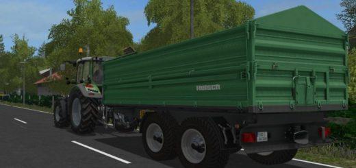 Мод прицеп REISCH TDK 1600 Farming Simulator 17