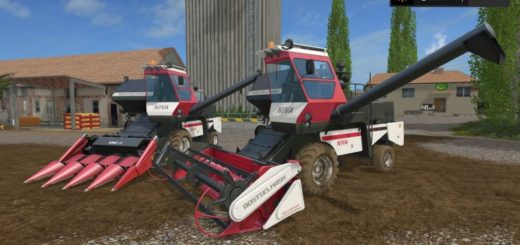Мод комбайн ROSTSELMASH NIVA PACK Farming Simulator 17