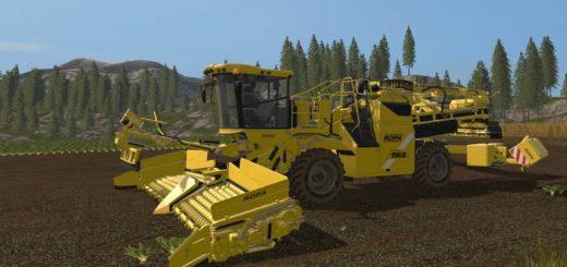 Мод комбайн Ropa Euro Maus 5 V 1.0 Farming Simulator 2017