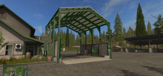 Мод Station de lavage v 1.0 Farming Simulator 2017