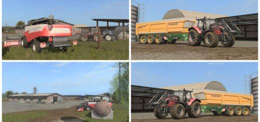 Мод карта Summer Fields Farming Simulator 17