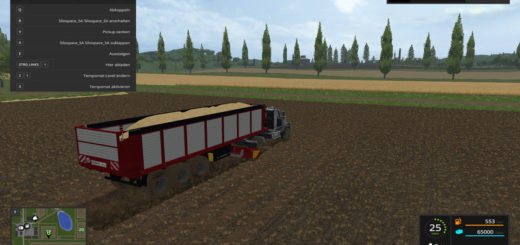 Мод прицеп Silospace SA v 1.0 Farming Simulator 2017