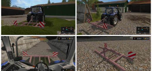 Мод Small Leveler v 17.1 Farming Simulator 2017