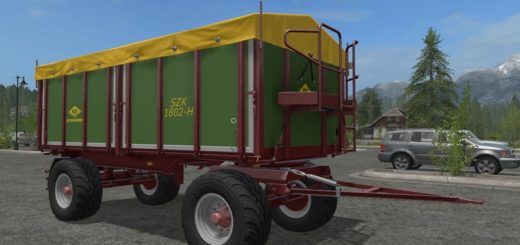 Мод прицеп Strautmann SZK 1802 H v 1.0 Farming Simulator 17