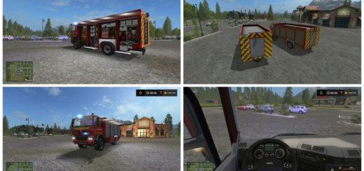 Мод Tatra Phoenix Rüstwagen V 1 Farming Simulator 2017