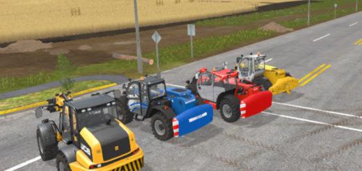 Мод Teleladergewichte v 1.0 Farming Simulator 17