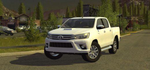 Мод Toyota Hilux v1.0.0.0 Farming Simulator 2017