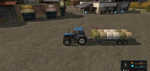 Мод Ursus T127 Plus v 1.0 Farming Simulator 17