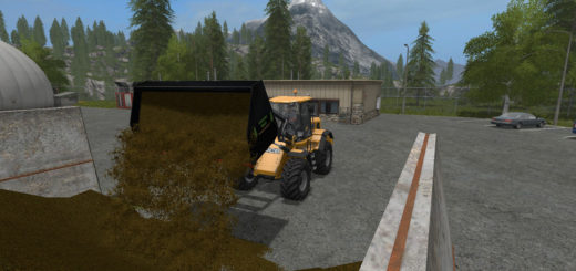 Мод ковш Universal Leichtgutschaufel Wheel loaders/ Telescopic loaders XXL 1.0 Farming Simulator 17