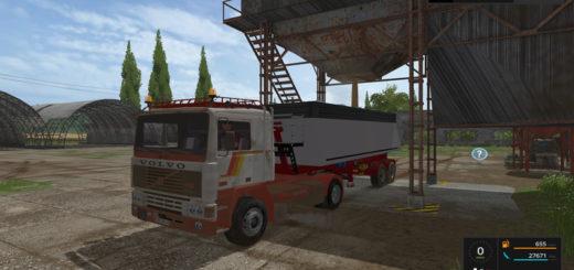 Мод Volvo F12 v 1.0 Farming Simulator 17