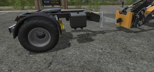 Мод WheelLoader To Trailer Adapter Farming Simulator 17