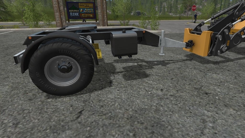 Мод WheelLoader To Trailer Adapter Farming Simulator 17