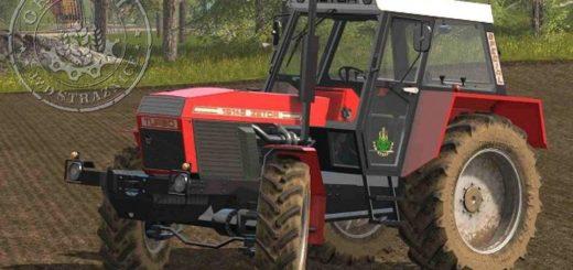 Мод трактор Zetor 16145 Special Farming Simulator 2017