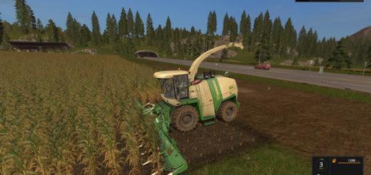 Текстуры кукурузы Corn texture v 1.0 Farming Simulator 17