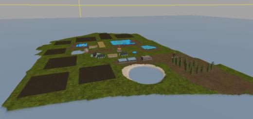 Мод карта ile picarde V 1.2 Farming Simulator 17