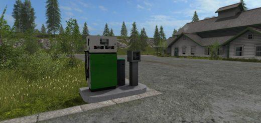 Мод Fuel station v 1.0.1 Farming Simulator 2017
