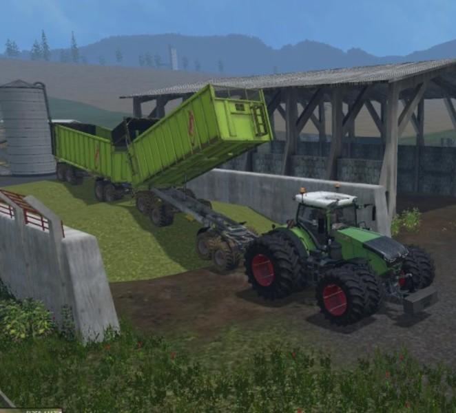 Мод Fliegl 4achs v 1.0 Farming Simulator 2017